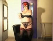 Alte Swingerin macht auf Porno