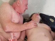 Oma und Opa beim Pornodreh