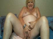 Webcam Fotzen Spaß mit Großmama
