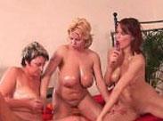 Grannys feiern Gruppensex Orgie