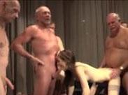 Gruppensex Rentner Orgie