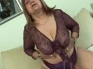 Hässliche alte, schlampige Frau ficken