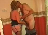 Rentnerin geil gefickt von ihrem Ehemann