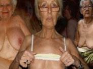 Hundertjährige nackte Fotze
