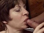 Deutsche Oma im Vintage Porno