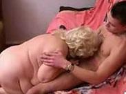 Stiefenkel fickt seine geile fette Oma