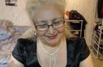Oma Webcamsex mit einer geilen alte Dame