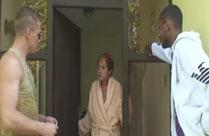 Geiler Gruppenfick mit einer notgeilen Oma