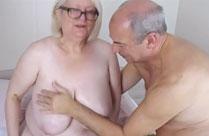 Opa ölt Omas Titten ein