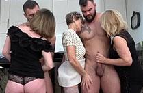 Omas geile Sex Party