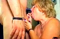 Oma und Opa drehen einen Porno